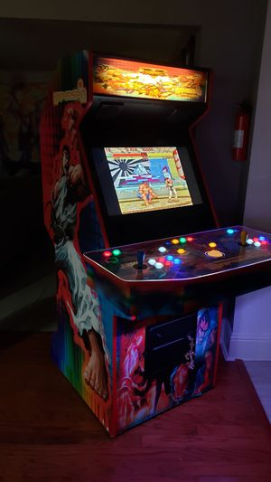 ARCADE MACHINE OVER 10,000 GAMES RETRO GAMES FROM 80'S 90'S 2000'S for Sale in Arlington, TX