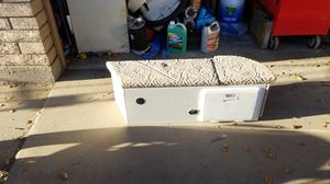 Seat and battery storage compartment for boat. Also has a plug in for a trolling motor for Sale in Phoenix, AZ