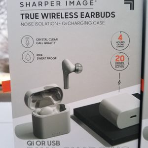 Sharper Image Wireless Earbuds Blutooth Noise Canceling Isolation for Sale in Queens, NY