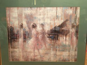 Ballet girl picture and frame for Sale in Waxahachie, TX