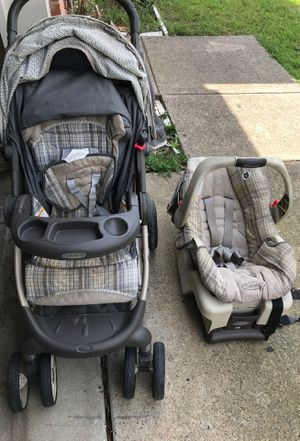 Graco car seat and stroller for Sale in Dallas, TX