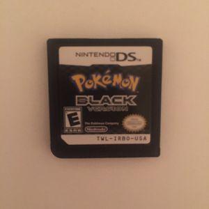 Pokémon Black for Sale in Fort McDowell, AZ