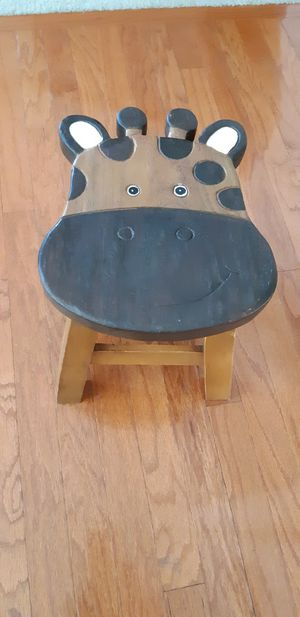 Giraffe foot stool/chair/bench for Sale in Mt. Juliet, TN