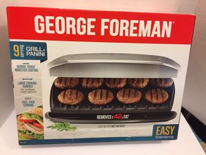 New! Grill and Panini by George Foreman for Sale in Henderson, NV