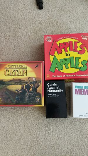 Assorted board games for Sale in Arlington, VA