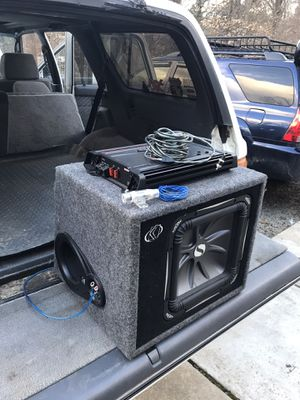 """12"""" L7 sub, amp and other stuff for Sale in Manassas, VA"""
