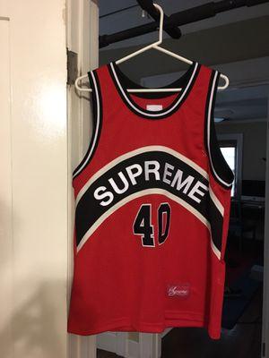 Supreme Basketball Jersey (size medium) for Sale in Rosemead, CA