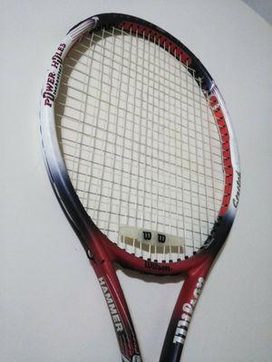 Wilson Hammer 6.4 Power Holes Tennis Racket Oversize, Strung & Ready for Sale in Darien, CT