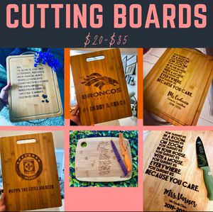 Engraved Cutting Boards for Sale in San Diego, CA