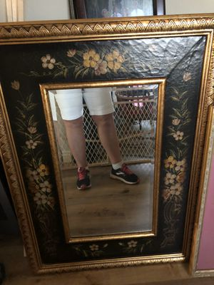 Ornate flower border large wall mirror(set of2) price each for Sale in Mesa, AZ