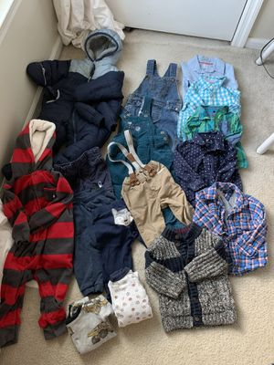 12-18 month winter clothing bundle for Sale in Columbia, MD