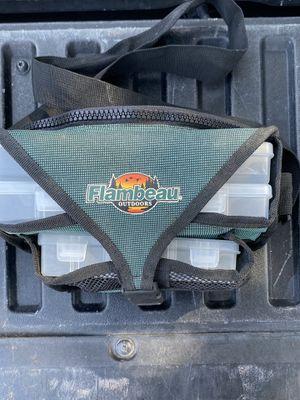 FLAMBEAU TACKLE BOX BAG WAIST STRAP for Sale in Calabasas, CA
