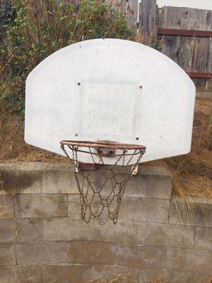 Basket ball hoop & backboard for Sale in San Marcos, CA