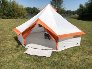 Premium 8 Person Yurt Camping Tent for Outdoor, Backyard, Hiking, Traveling, Summer, Brand New T15 for Sale in Fredericksburg, VA
