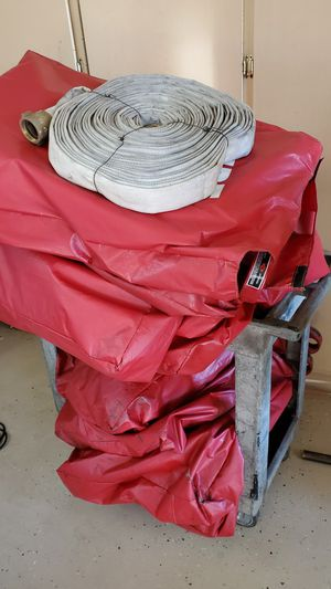 """50 feet 1.5"""" fire hose. Stored not used for Sale in Alta Loma, CA"""