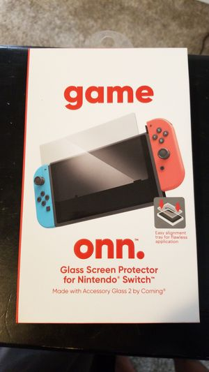 Game onn glass screen protector for Sale in Delta, CO