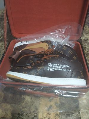 Nike 1s x LV shoes for Sale in Fort Worth, TX