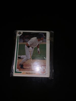Upper deck 1991 New York Yankees baseball cards for Sale in Kissimmee, FL