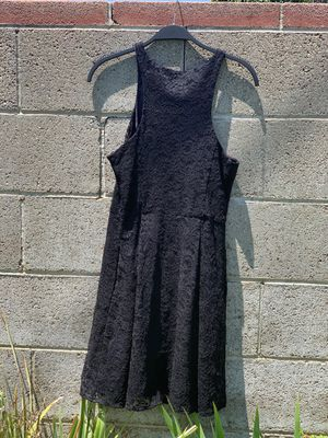 Express Black Lace Dress with Zipper for Sale in Ventura, CA