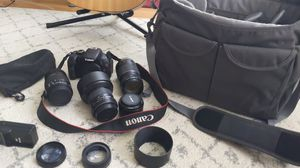 Canon Rebel T3i package for Sale in SeaTac, WA
