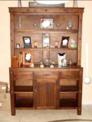 Antique country wood Cabinet for Sale in Princeton, FL