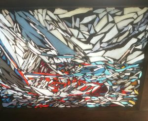 Regatta sailboat Mosaic glass for Sale in Sacramento, CA