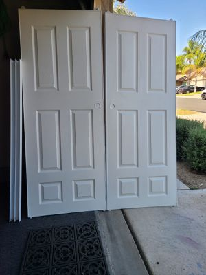 French sliding closet doors for Sale in Chino, CA