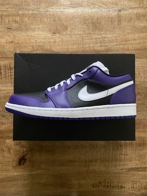 Jordan 1 Low Court Purple Size 10 for Sale in Clackamas, OR
