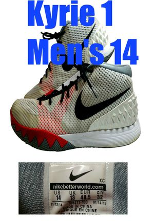 Excellent Condition Nike Kyrie 1 Men's 14 Basketball Shoes Model No. 705277-100 for Sale in Willowbrook, IL