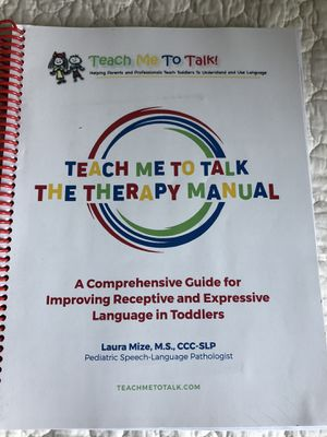 Teach Me To Talk Therapy Manuals and DVD's for Sale in Charlottesville, VA
