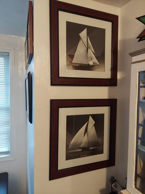 3 sailboat pictures for Sale in Norfolk, VA