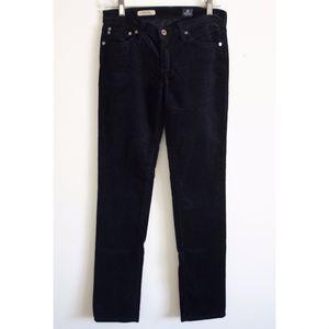 AG Adriano Goldschmied Black Corduroy Stilt Cigarette Jean - Size 26R for Sale in Los Angeles, CA