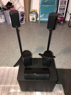 Klipsch surround sound speakers & subwoofer for Sale in Tampa, FL