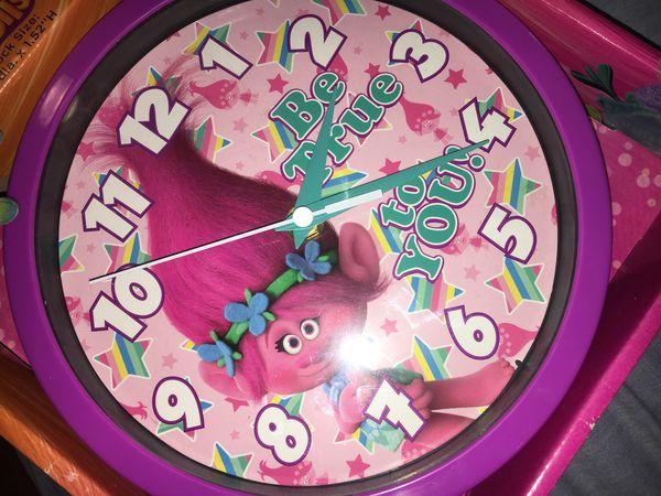 Trolls Wall Clock