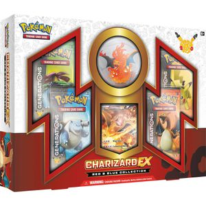 Pokemon RED & BLUE COLLECTION Charizard EX box for Sale in Victorville, CA