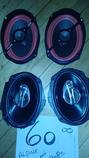 6 X 9 Alpine and pop speaker $60 I'll 4 for Sale in Chicago, IL
