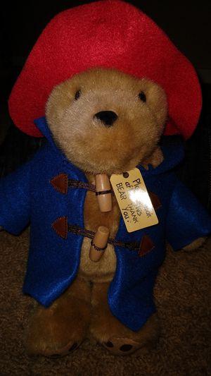 Paddington Bear Teddy stuffed animal for Sale in Mesa, AZ