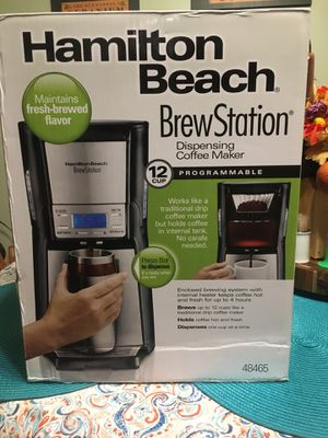 Hamilton Beach brewing station coffee maker for Sale in Azusa, CA