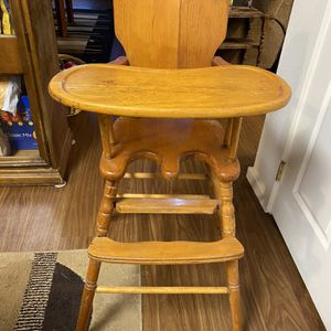 Antique High Chair for Sale in Portland, OR