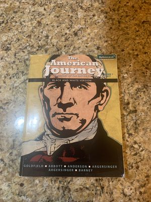 American Journey Volume 1 for Sale in Combine, TX