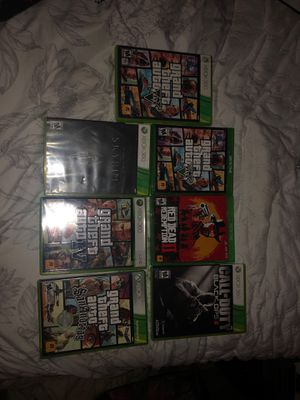 Xbox one/360 games all still run no scratches. for Sale in Ballston Spa, NY