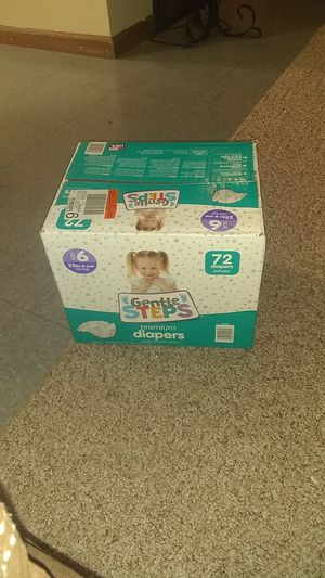 Case of diapers for Sale in Lancaster, OH