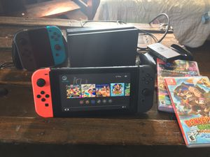 Nintendo Switch bundle! for Sale in Blakesburg, IA