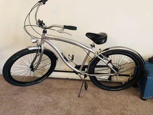 "29"" Genesis aluminum beach cruiser bike super lightweight and fun to ride for Sale in Seattle, WA"