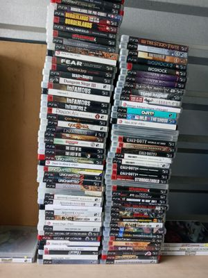 Ps3 games 10$ each i can drop off too for Sale in San Antonio, TX