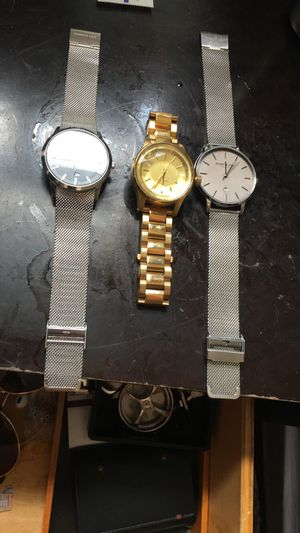 Kenneth Cole and Nixon Men's watches for Sale in Springfield, VA