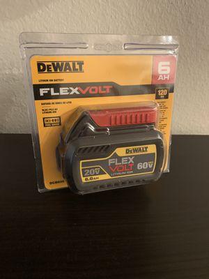 Dewalt flex volt 6.0 battery for Sale in Renton, WA
