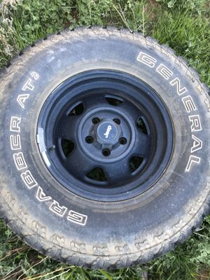 Jeep Rims and tires for Sale in Globe, AZ