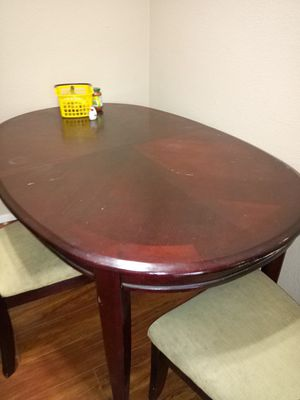 Dining table with 4 chairs free for Sale in Fremont, CA