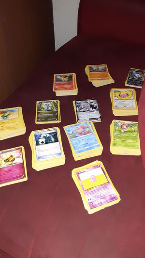 496 pokemon cards and pickachu binder for Sale in Greer, SC